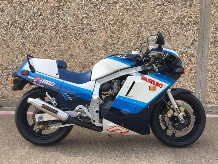 Featured Listing: Unrestored 1986 Suzuki GSX-R 1100
