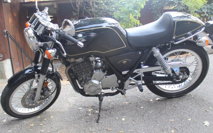 Time Travel: 1989 Honda GB500 TT for Sale