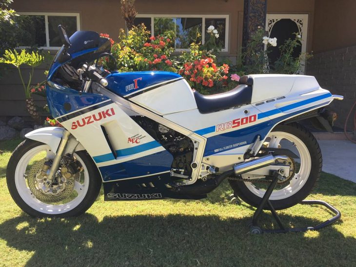 Slightly scruffy but ready to go: 1985 Suzuki RG500 Gamma