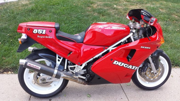 Well-used: 30k-mile 1991 Ducati 851