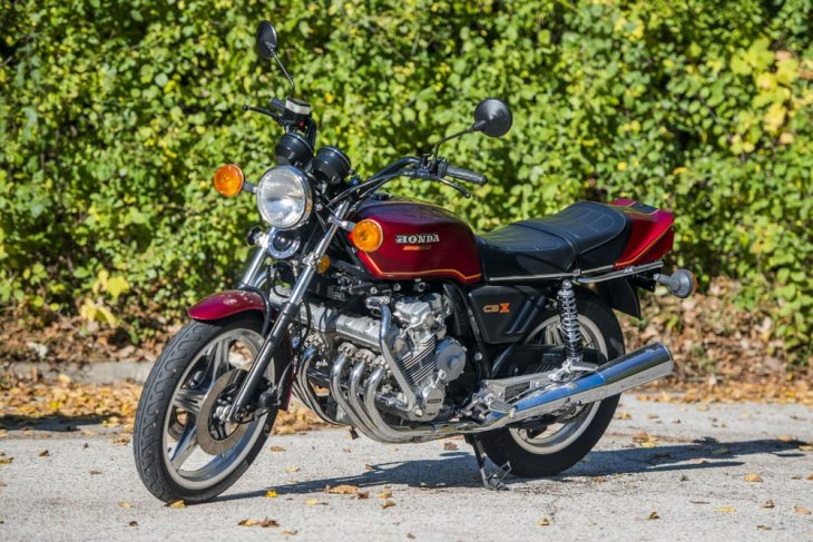 Featured Listing: 1979 Honda CBX with Matching Helmet!