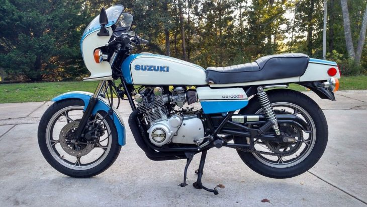 Featured Listing: 1980 Suzuki GS1000S Wes Cooley