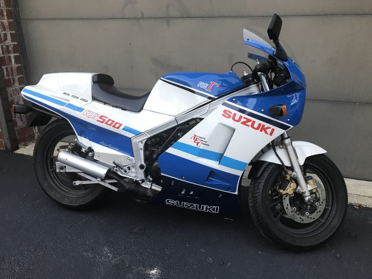 Featured Listing: 1986 Suzuki RG500Γ Gamma for Sale