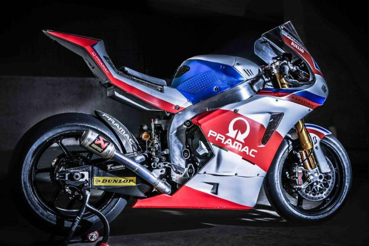 Even Readier to Race: 2015 Ariane Moto2 Race Bike for Sale