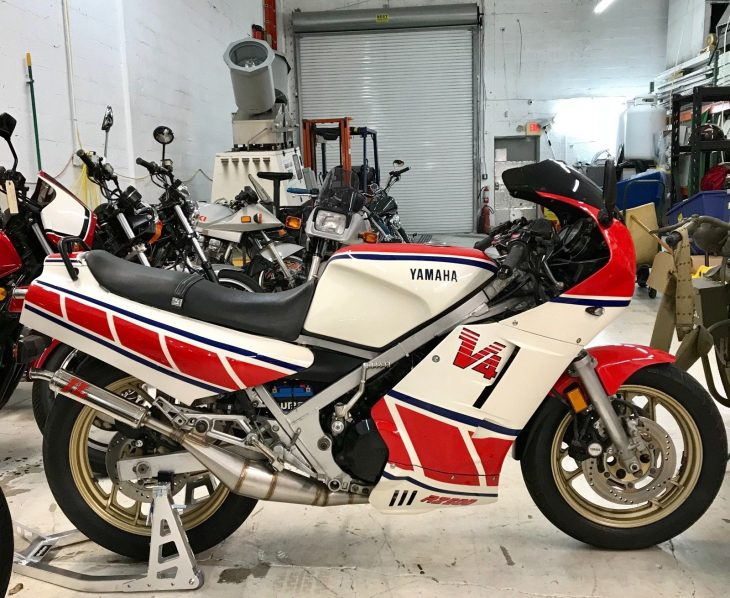 Featured Lising:  Big-bore V4 -1985 Yamaha RZ500
