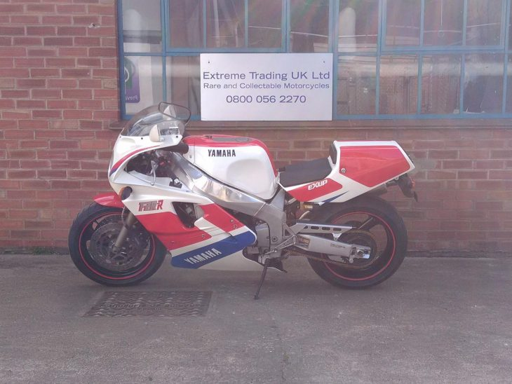 OW Yeah: Two 1989 Yamaha OW-01s at one English dealer