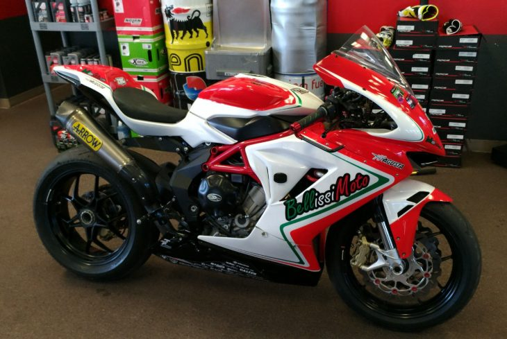 MotoAmericana: 2013 MV Agusta F3 SuperSport Race Bike