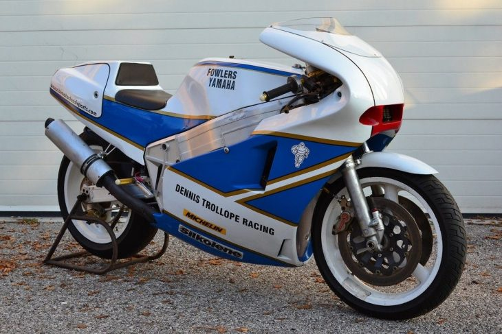 Classic Superbike: 1988 Bimota YB4 Race Bike for Sale