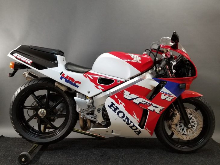 Jersey-Titled Vee Four: 1992 Honda VFR400R NC30 for Sale