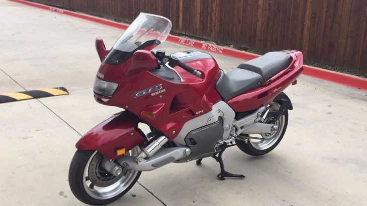 Low Miles, Even Fewer Forks: 1993 Yamaha GTS1000 for Sale