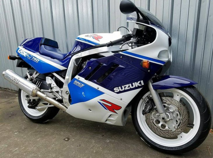 Featured Listing: 1989 Suzuki GSX-R750K