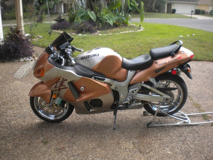 1st year big bird: 1999 Suzuki Hayabusa on ebay