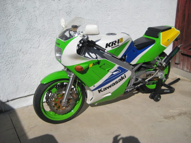 Cali-Titled Two-Stroke: 1990 Kawasaki KR-1S for Sale