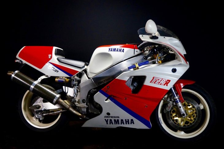 Race-Kitted: 1990 Yamaha FZR750R OW01 for Sale