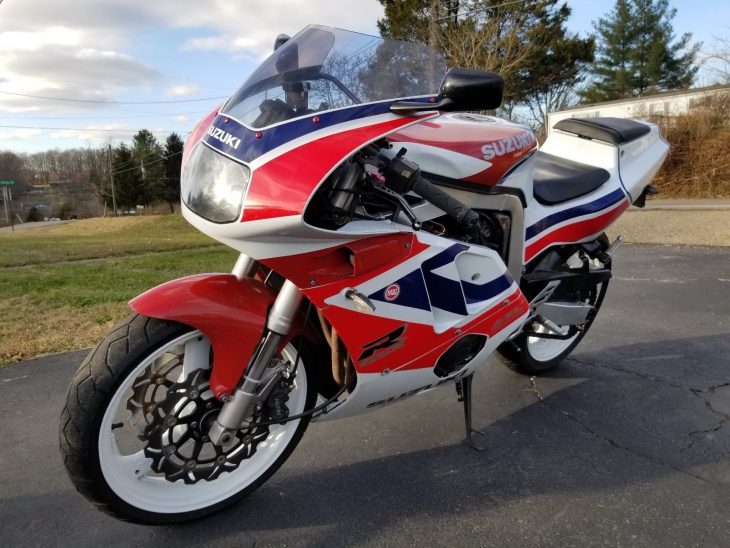 Big Style, Modest Power: 1991 Suzuki GSX-R400 GK76 for Sale