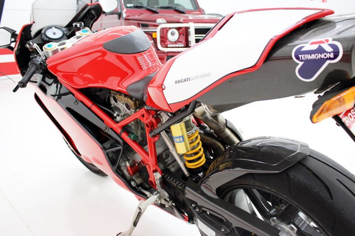 Considering That The 999R Has Basically Little In Common With A MotoGP  Machine Other Than The Ducati Name And The Fact That It Has Two Wheels And  An Engine, ...