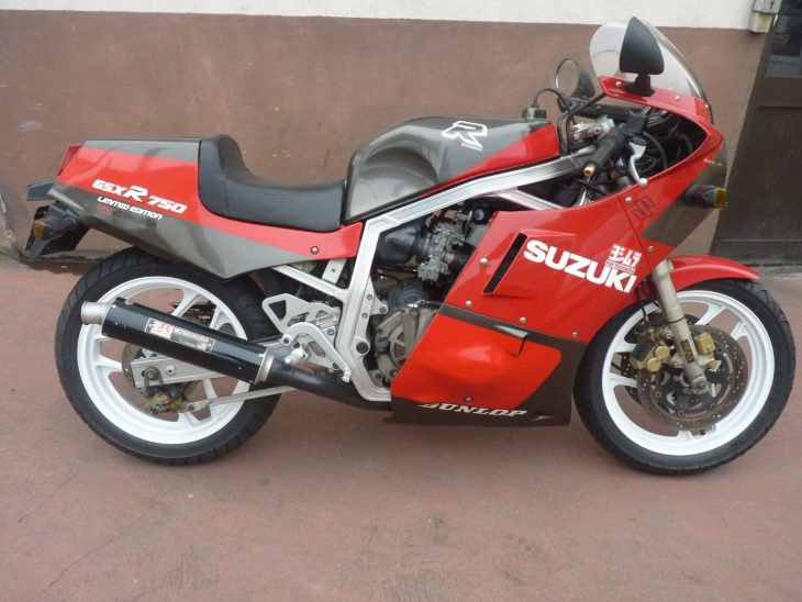 Carte Grise – 1986 Suzuki GSX-R750R Limited Edition in France