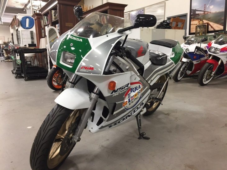 Featured Listing: Mysterious 1989 Honda NSR250