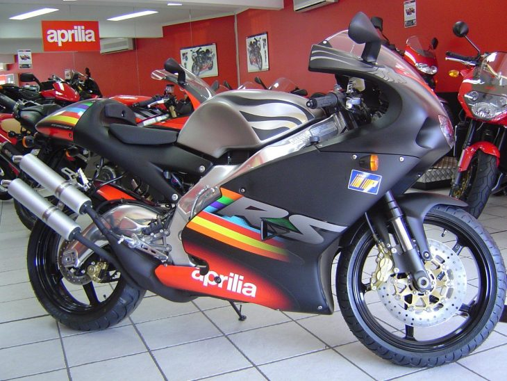 Last Wild Stallion: 0-mile 2003 Aprilia RS250GP-1