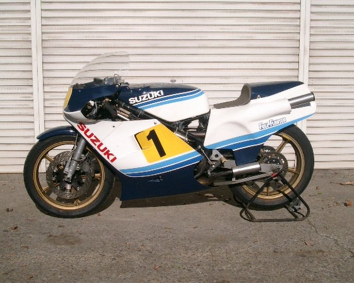 Worth the Trip: 1983 Suzuki RGB500 for Sale