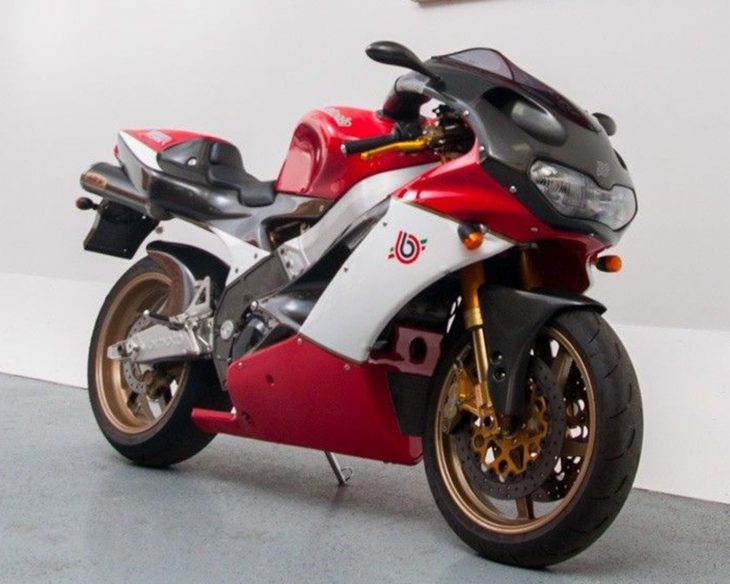 A Better Italian Twin? 2000 Bimota SB8R for Sale