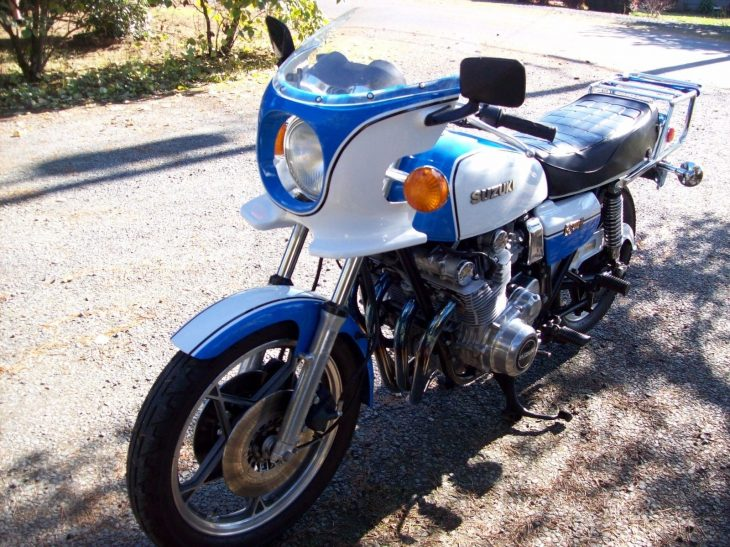 Low Mile Lookalike – 1979 Suzuki GS1000E Wes Cooley