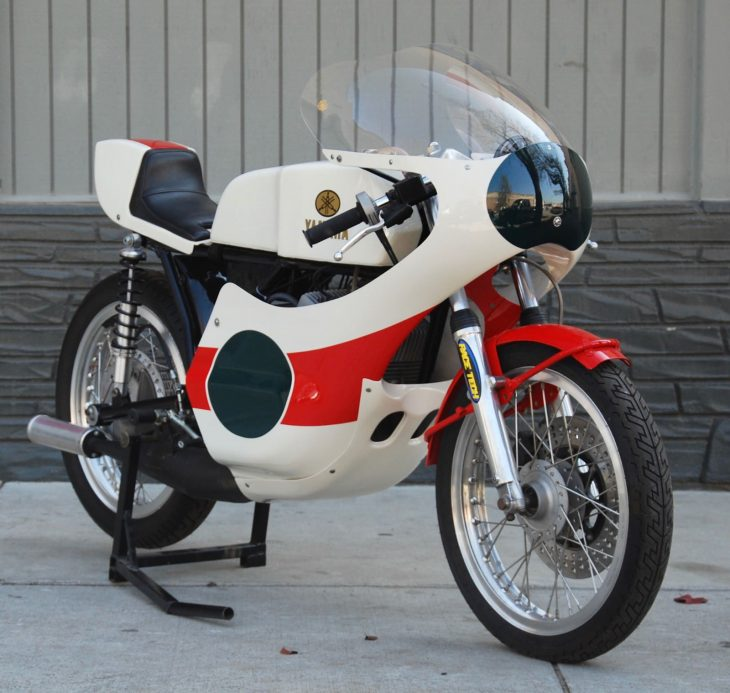 Race ready: Deus-restored 1973 Yamaha TD3