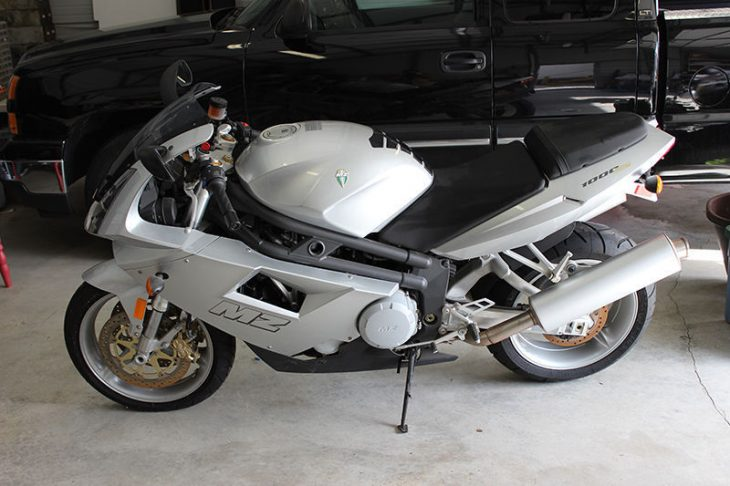 von Zschopau – 2005 MZ 1000ST with just 16 Miles