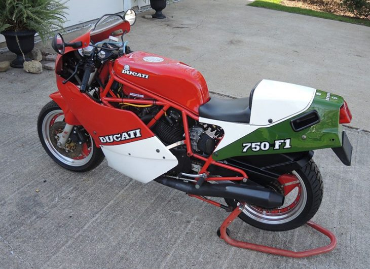 Tasteful Upgrades: 1988 Ducati 750 F1 for Sale