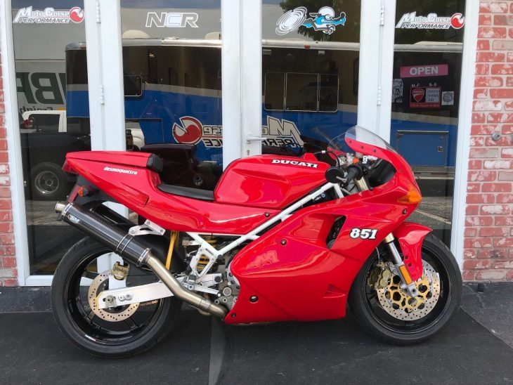 In The Beginning: 1992 Ducati 851 for Sale