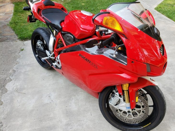 Clean, Low-Mileage, and Nearly Stock: 2006 Ducati 999R for Sale
