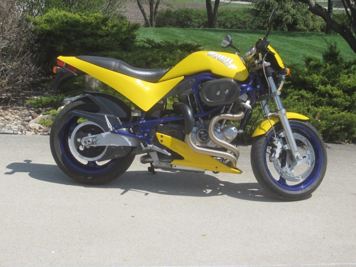 Bigtime Makeover – 1998 Buell M2 Cyclone