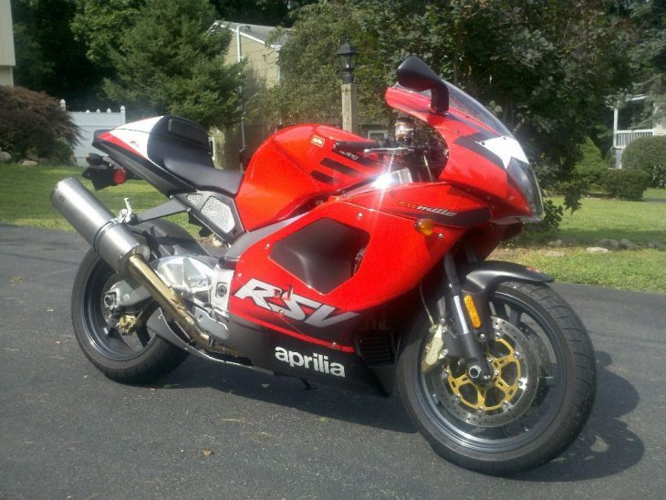 The Anti-Duc: Low-Mile 2002 Aprilia RSV Mille for Sale