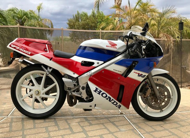 Meeting Your Heroes: 1989 Honda VFR400R NC30 for Sale