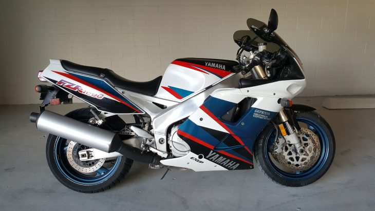 1995 Yamaha FZR 1000 in Austin, Texas $3,500