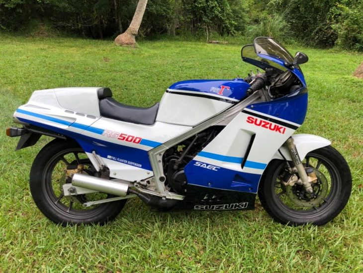 Featured Listing: Tidy 1986 Suzuki RG400