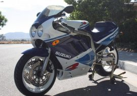 Featured Listing: Slick 1989 Suzuki GSX-R750 with fresh paint