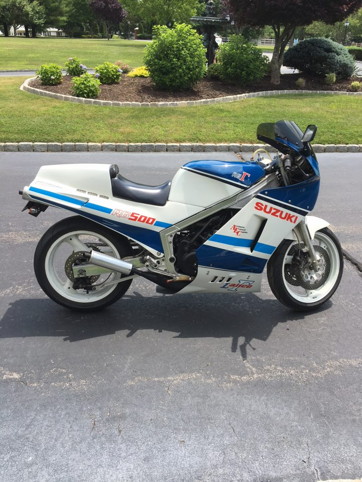 Featured Listing:  Not a garage queen!  Resto-mod 1986 Suzuki RG500