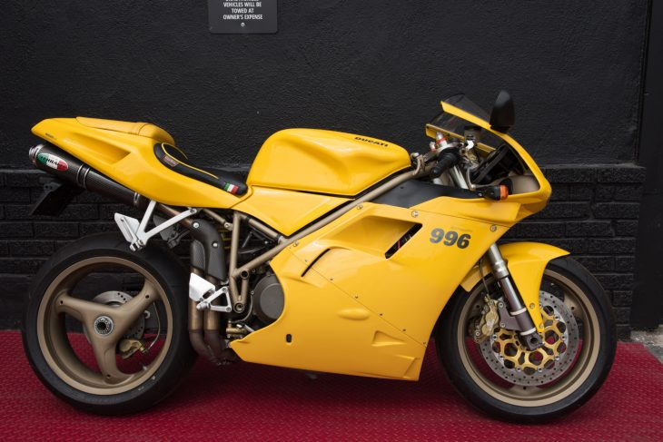 Sponsored Listing: 2000 Ducati 996 Biposto for Sale!