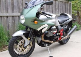 Featured Listing – 2002 Moto Guzzi V11 Le Mans Tenni with 2,000 miles!