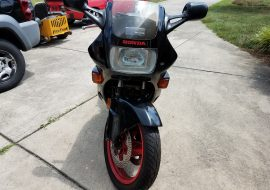 Featured Listing: 6,400-mile, one-owner 1987 Honda Hurricane 600