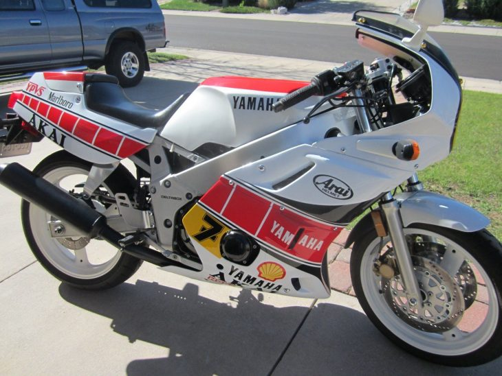 1989 Yamaha FZR400R with just 1,300 Miles !