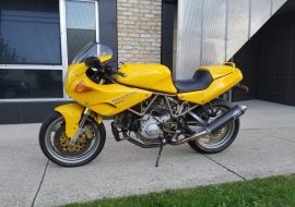 Featured Listing: 1997 Ducati 900SS CR in rare yellow!