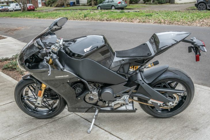 Was Not Was: 2012 Buell EBR 1190RS Carbon Fiber Edition