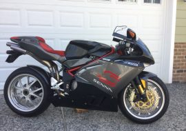 Featured Listing: 2007 MV Agusta F4 Senna #222