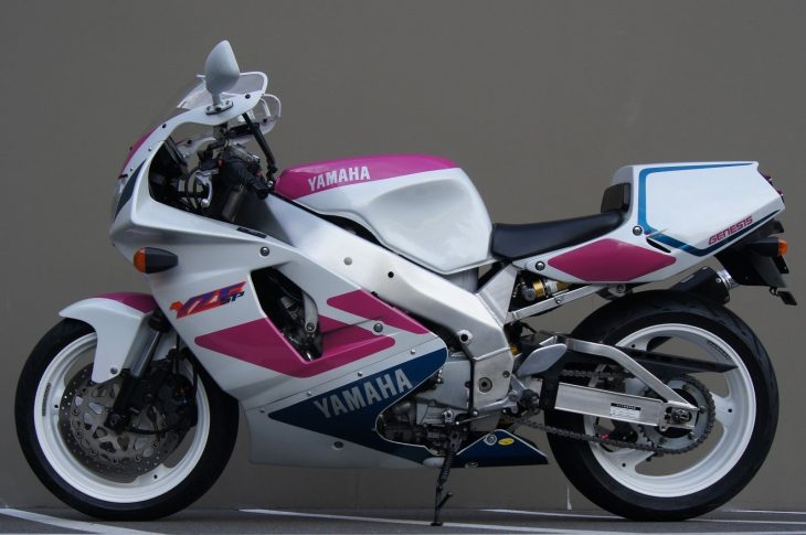 Great bike, bad timing:  1992 Yamaha YZF 750SP with 4,017 miles