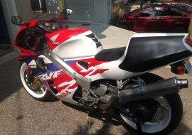 Featured Listing: 1996 Honda RVF400R for sale in Canada