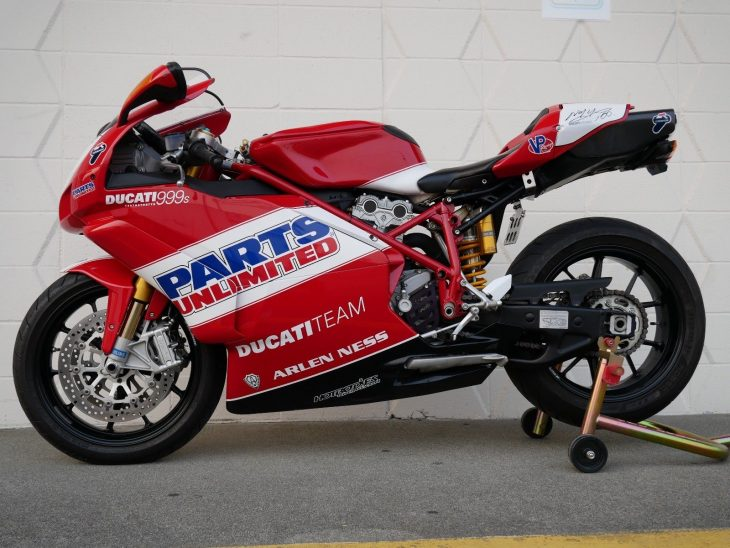 Featured Listing: 2007 Ducati 999S Parts Unlimited