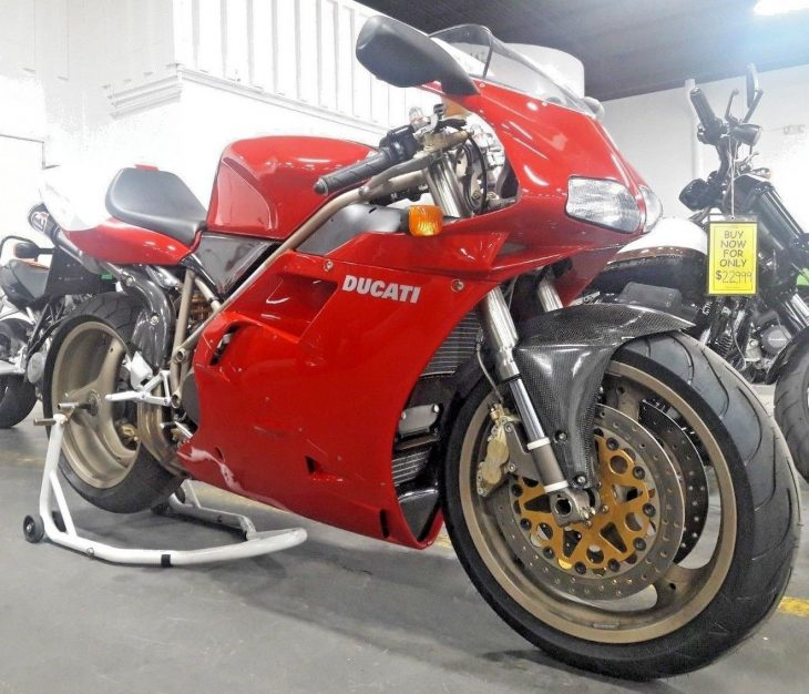 Hen's tooth: 237-mile 1998 Ducati 916 SPS