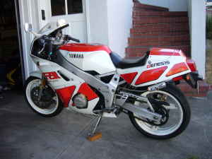 1988 Yamaha FZR400 For Sale Craigslist California White Red